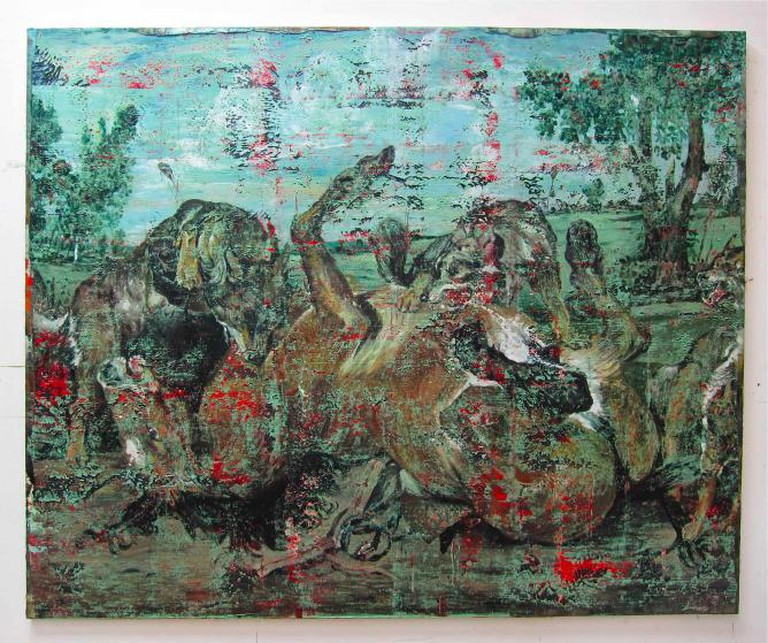 Les loups des surfaces, 2015 I Courtesy of Galerie Christophe Gaillard