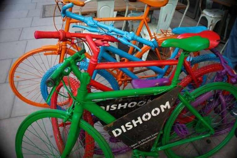 Dishoom bikes | © Bart Heird / Flickr