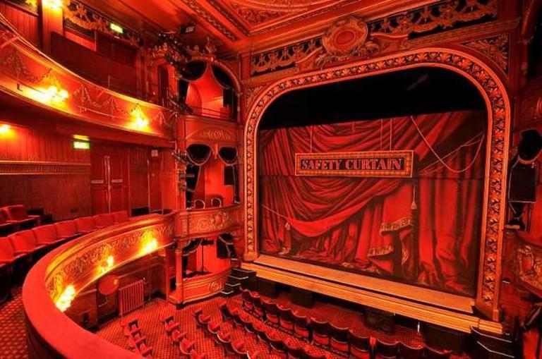 Auditorium at Theatre Royal Stratford East | © Jamie Lumley