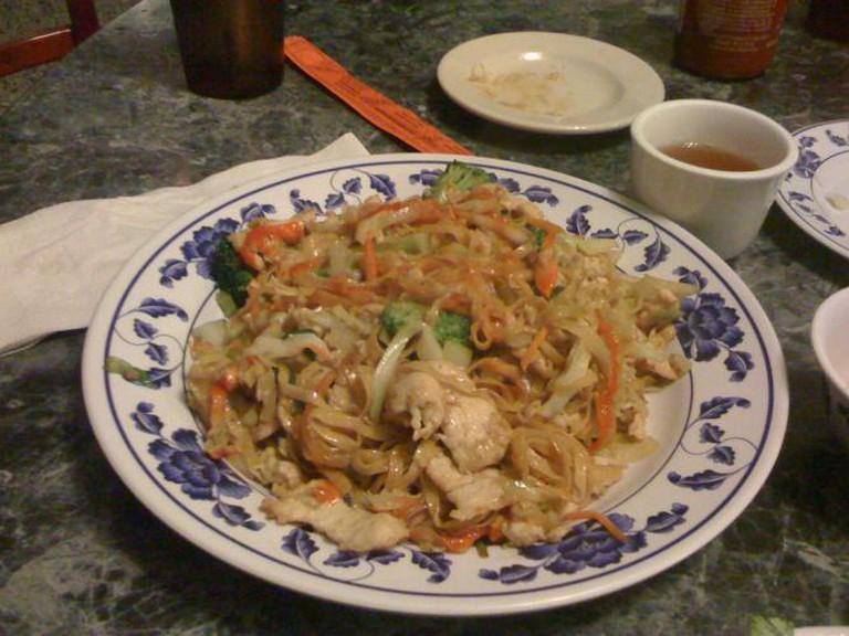 Dinner at the Vietnam Café, Kansas City