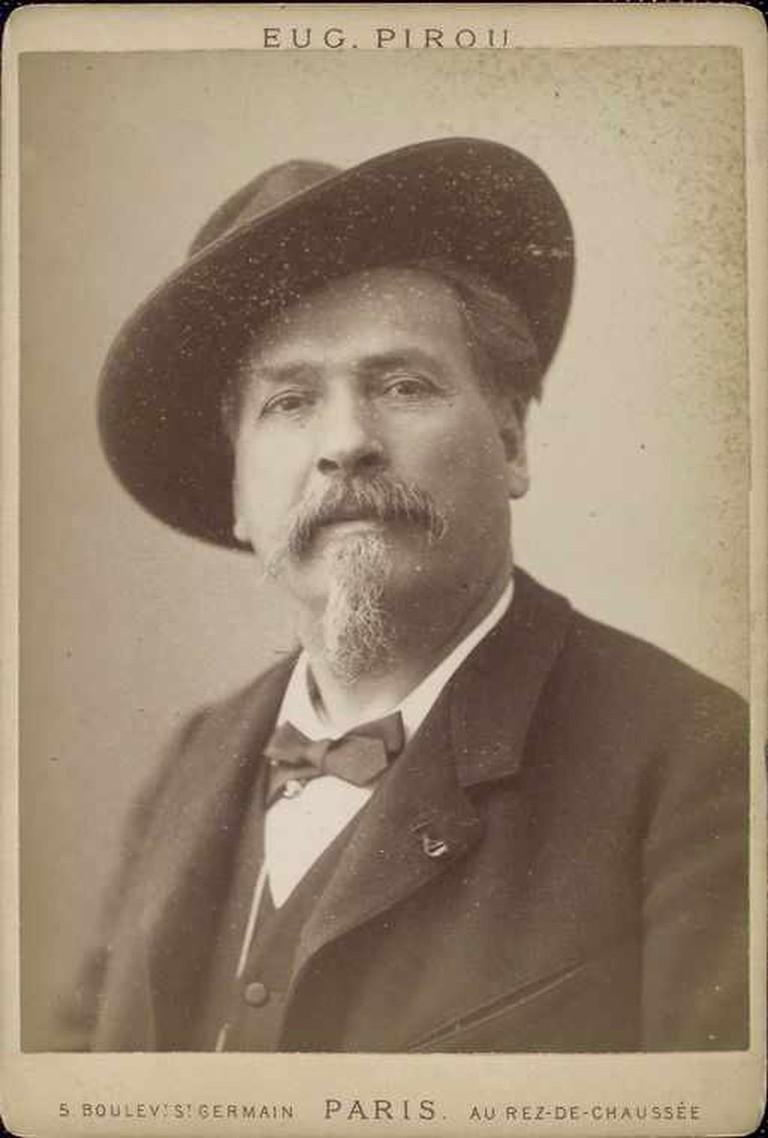 Noble-winner, Occitan writer Frederic Mistral