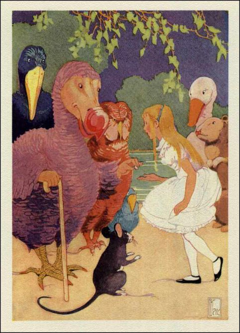 Alice in Wonderland by Gertrude Kay   © Wikicommons