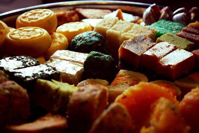Diwali Sweets India | © robertsharp/WikiCommons
