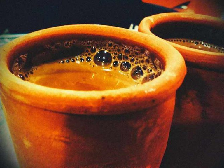 Masala Tea served in earthen cup | © AlekhyaDas/WikiCommons