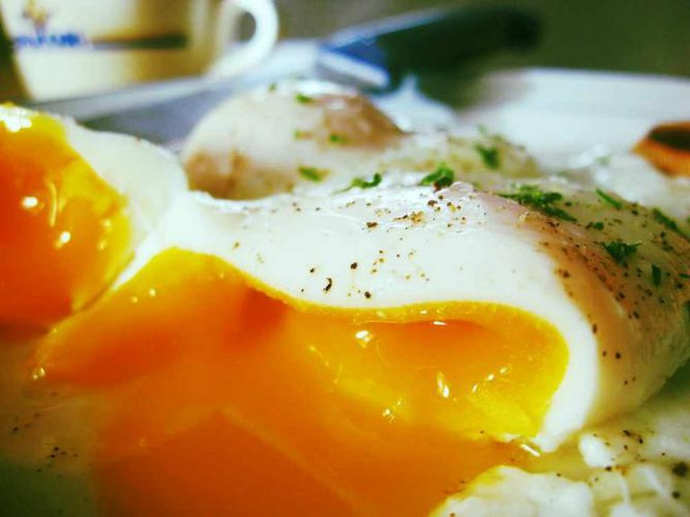 Poached Eggs | © Seph Swain/Flickr