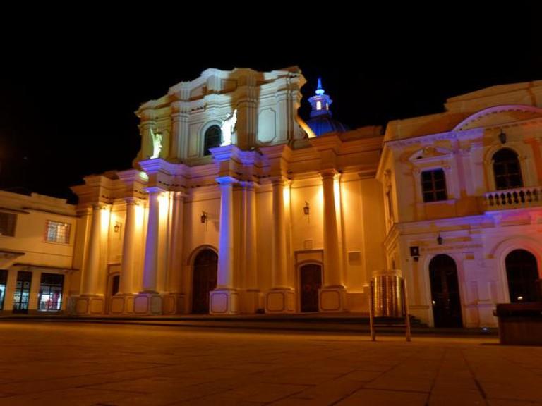 Popayán at night | © inyucho/Flickr