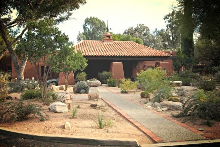 The landscape of Canyon Ranch.