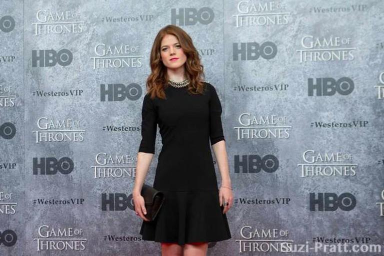 "Rose Leslie at HBO's ""Game Of Thrones"" Season 3 Seattle Premiere at Cinerama   © Suzi Pratt/Flickr"
