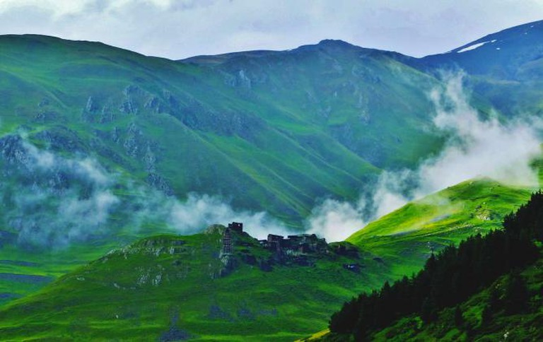 View to Dartlo © Ioanna Sakellaraki