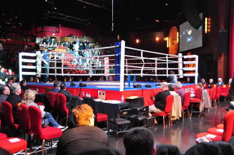 Boxing Ring | © Peter Gordon/Flickr