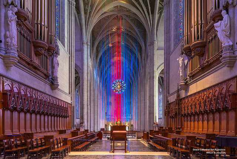 Grace Cathedral San Francisco © David Yu/Flickr