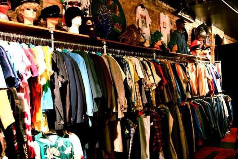 Vintage Indie Used Clothing Scavenger Hunt Shopping 12-8-08 1   ©  Steven Depolo/Flickr