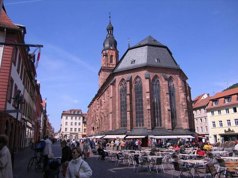 Heiliggeistkirche, Heidelberg.