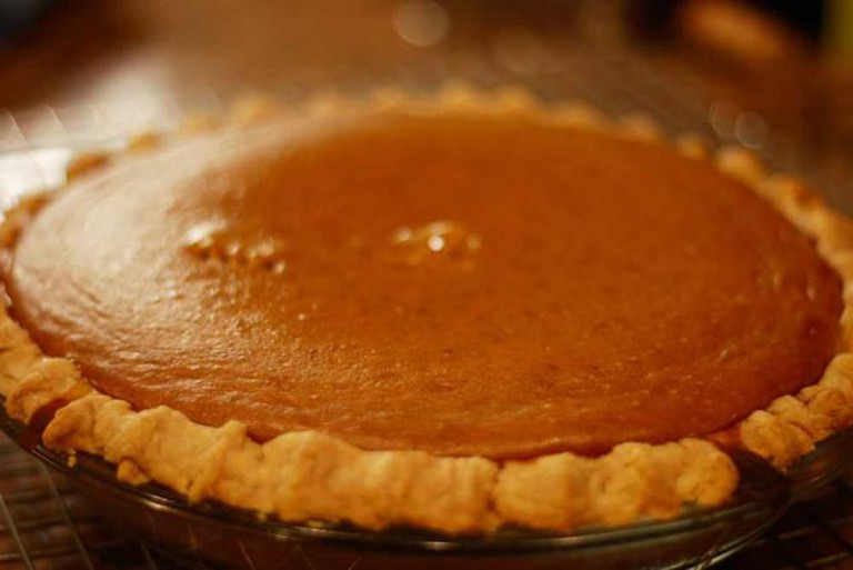 Pumpkin Pie from a *real* pumpkin | © Patricia (Brownies for Dinner)/Flickr