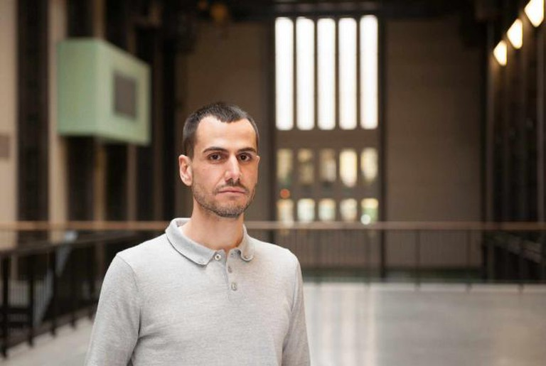Vassilis Oikonomopoulos, Assistant Curator at the Tate Modern l Courtesy of the Tate