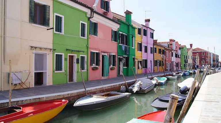Burano, Italy | © charlemagne/Pixabay