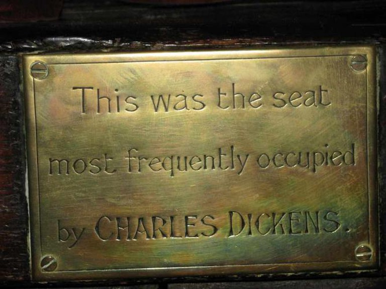 Dickens was supposedly a regular at Ye Olde Cheshire Cheese | © GrrlScientist/Flickr