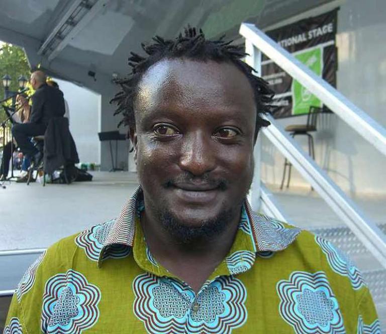 Writer Binyavanga Wainaina at the 2009 Brooklyn Book Festival   © Nightscream/WikiCommons