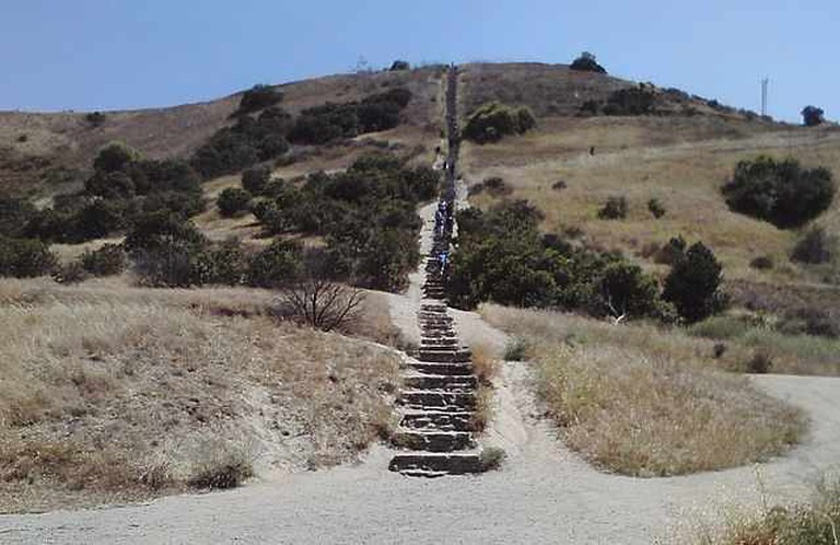 Culver City stairs | © Funhistory/WikiCommons