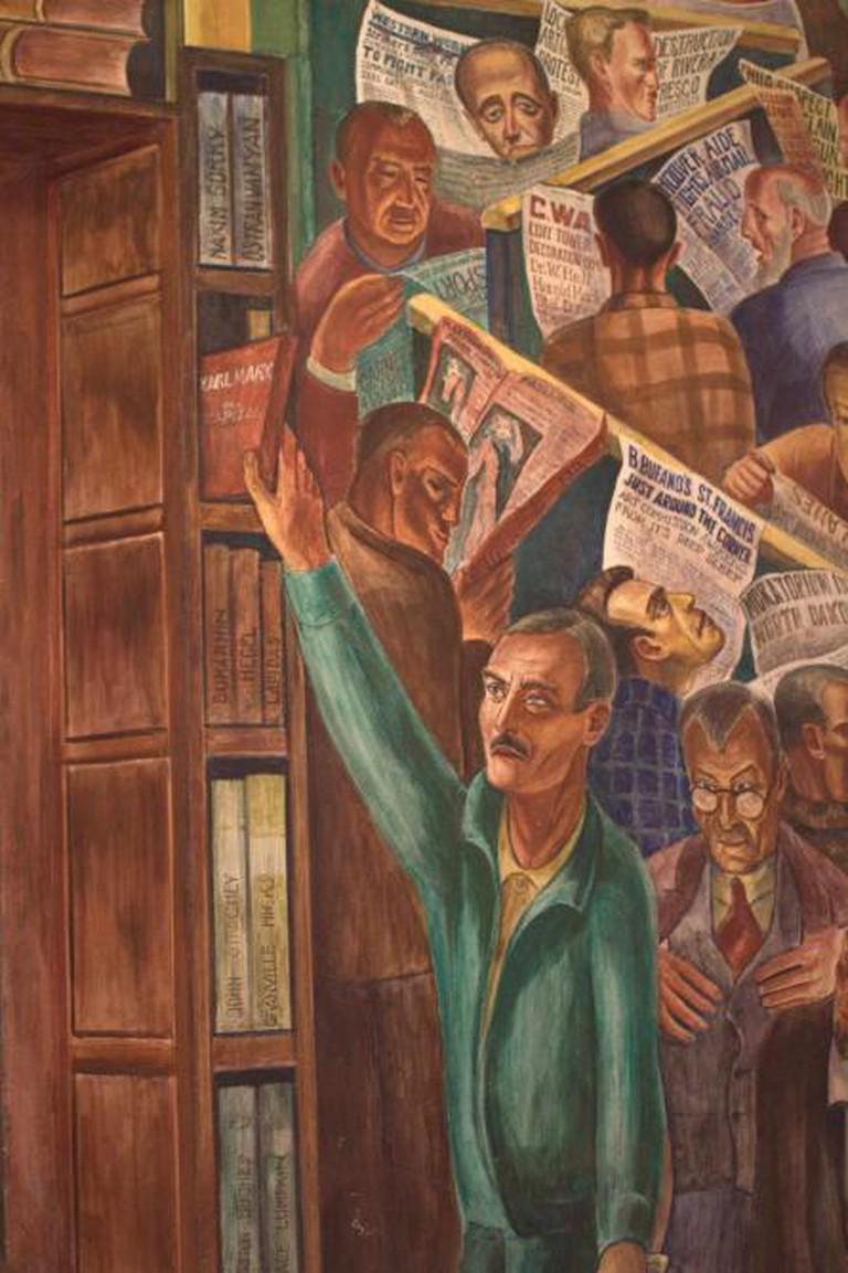 Reading Karl Marx at the Library | Brendan Riley/Flickr