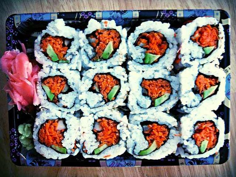 Vegetarian sushi | © SteveLoya/Flickr