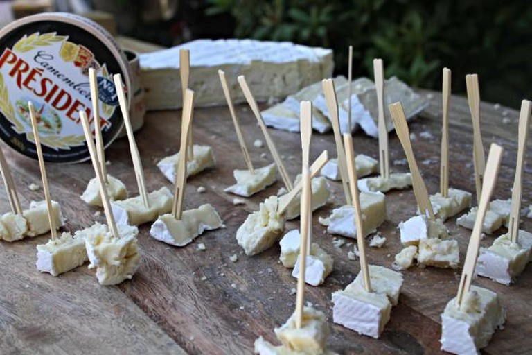 Camembert tasting | Courtesy of Tribeca Marketing