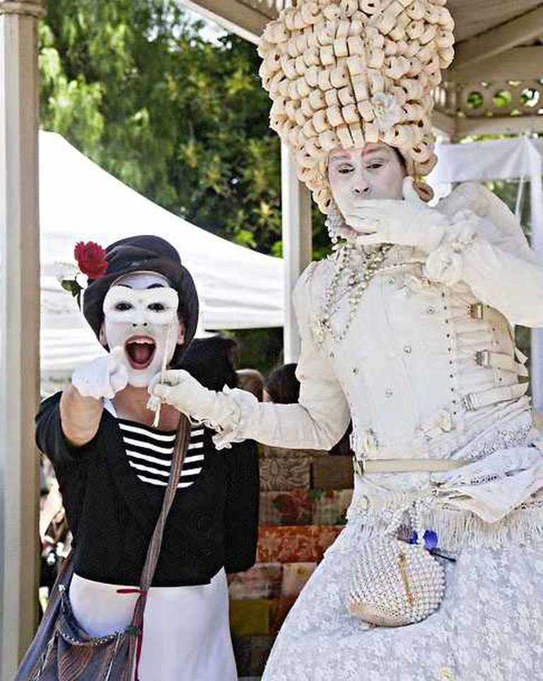 Lady and the Mime | Courtesy of Tribeca Marketing