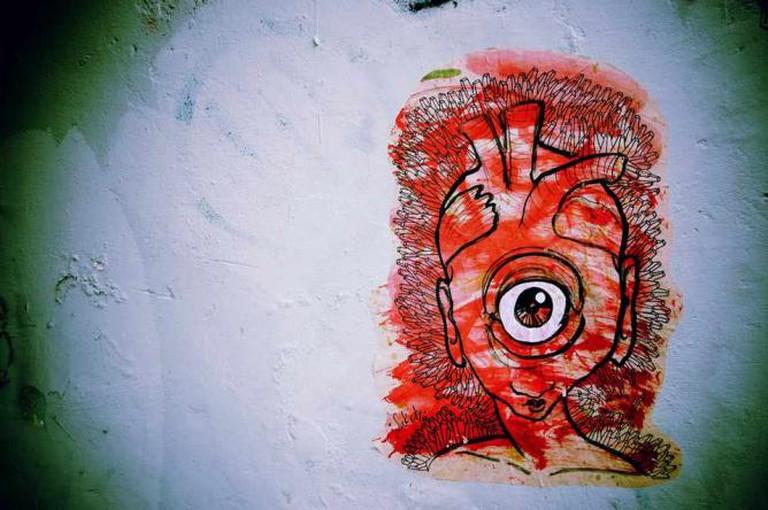Eye on You.  | © Adida Fallen Angel & The Sick City Crew, 2013