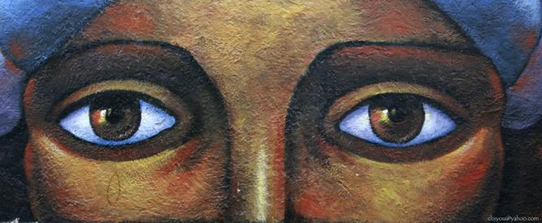 The Eyes of the Wall / Los Ojos del Muro I © ClixYou/Flickr