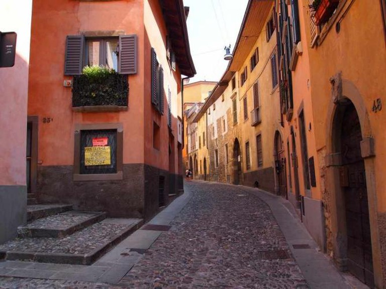 Streets of Bergamo / Photo by the author