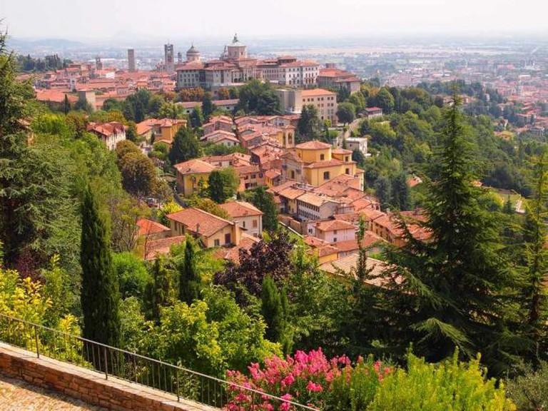 Bergamo, cittá alta / Photo By Author