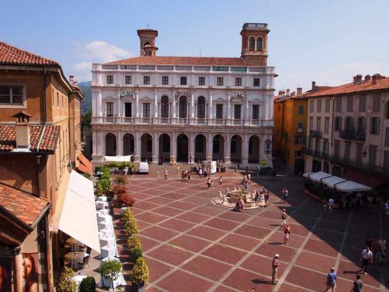 Piazza Vecchia / Photo By Author