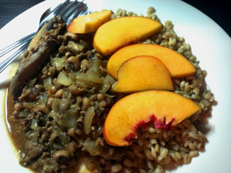 Brazillian Portobello stew I © Christabel Seneque/Flickr