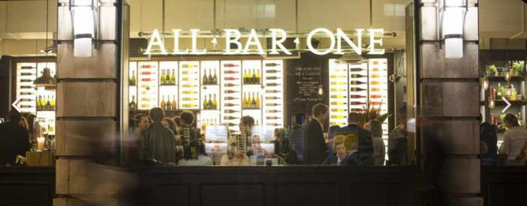 Image courtesy of All Bar One