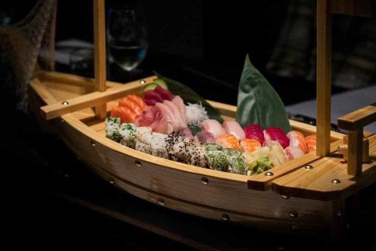 Sushi Boat at The Hook