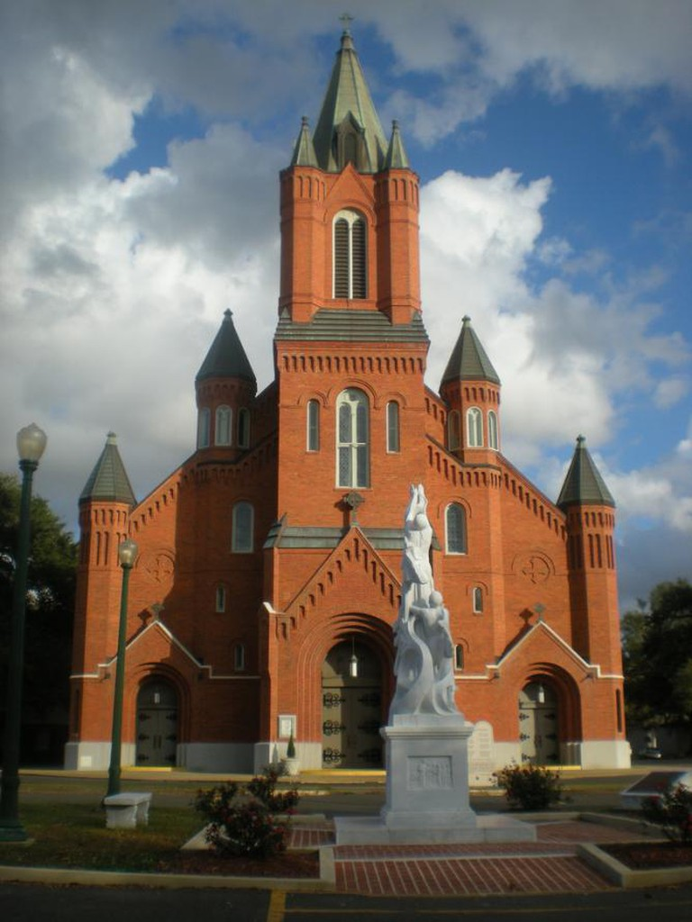 St. Landry Catholic Church in Opelousas, Louisiana | © Shanna Riley/Flickr