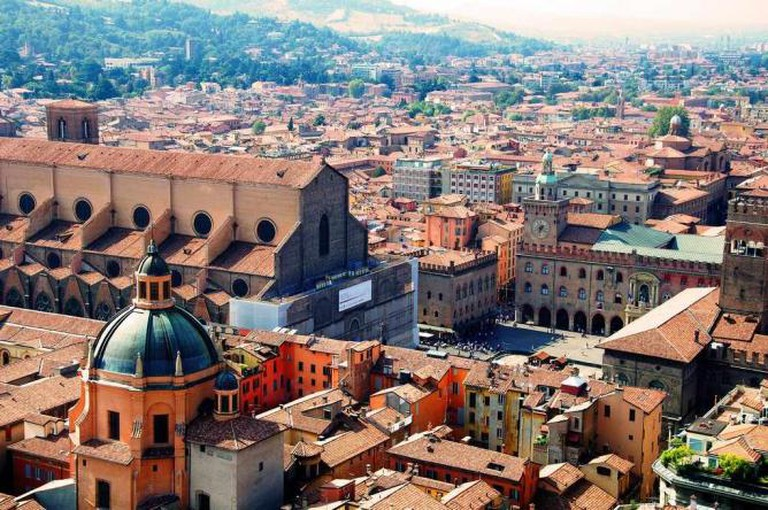 Bologna from Asinelli-tower / ©Goldmund100 (Luca Volpi) / wikicommons