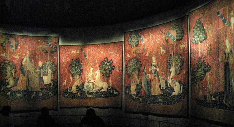 The Lady and the Unicorn Tapestries, Musée Cluny | © Spencer Means (in vacanza)/Flickr