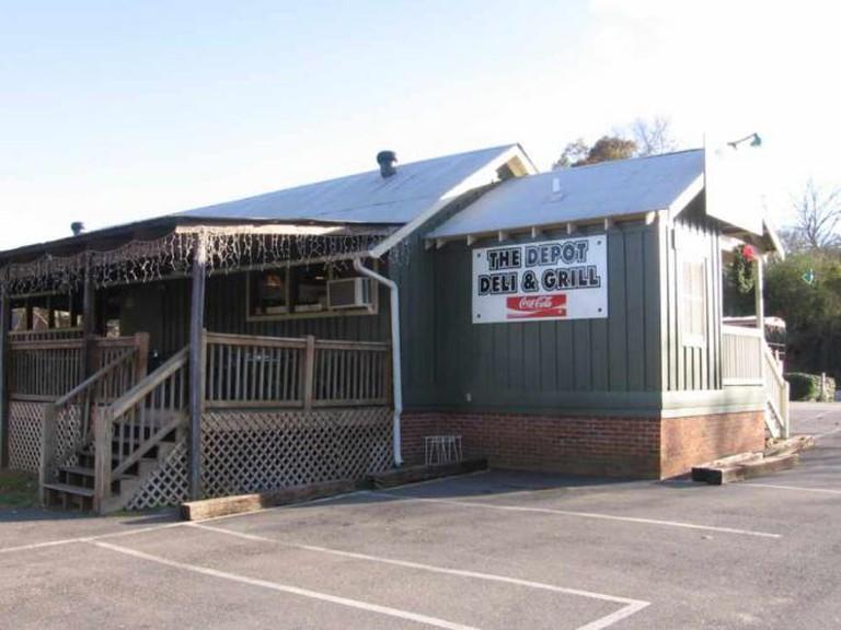 The Depot Restaurant in Helena, Alabama
