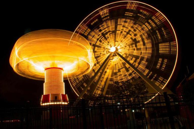 Iconic Navy Pier wheel, retired on September 27, 2015 | © Arghyaju/Wikicommons