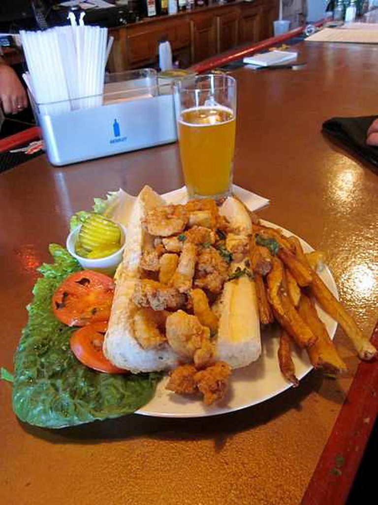 Fried Shrimp Po'boy - Infrogmation of New Orleans/Flickr