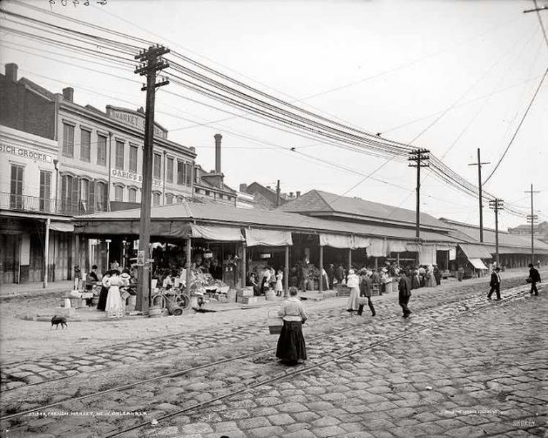 The French Market (1910) - unknown/Wikimedia Commons