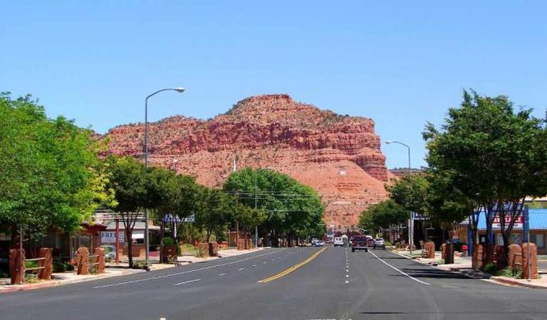 Main Street, Kanab, Utah | © P199/WikiCommons