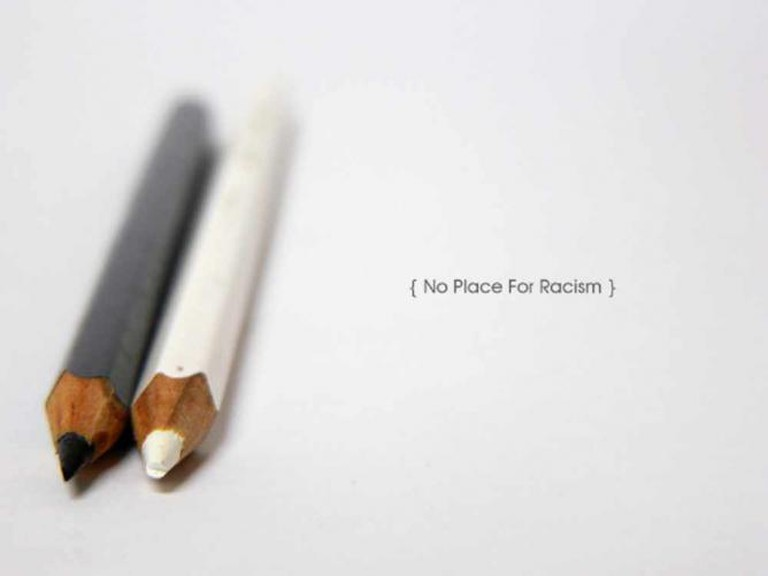 No Place For Racism | © Diogo A. Figueira/Flickr