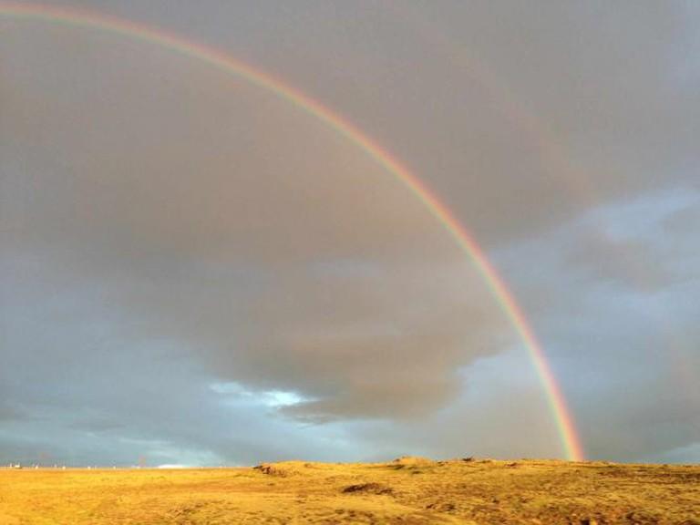 Double Rainbow | © Addie Gottwald