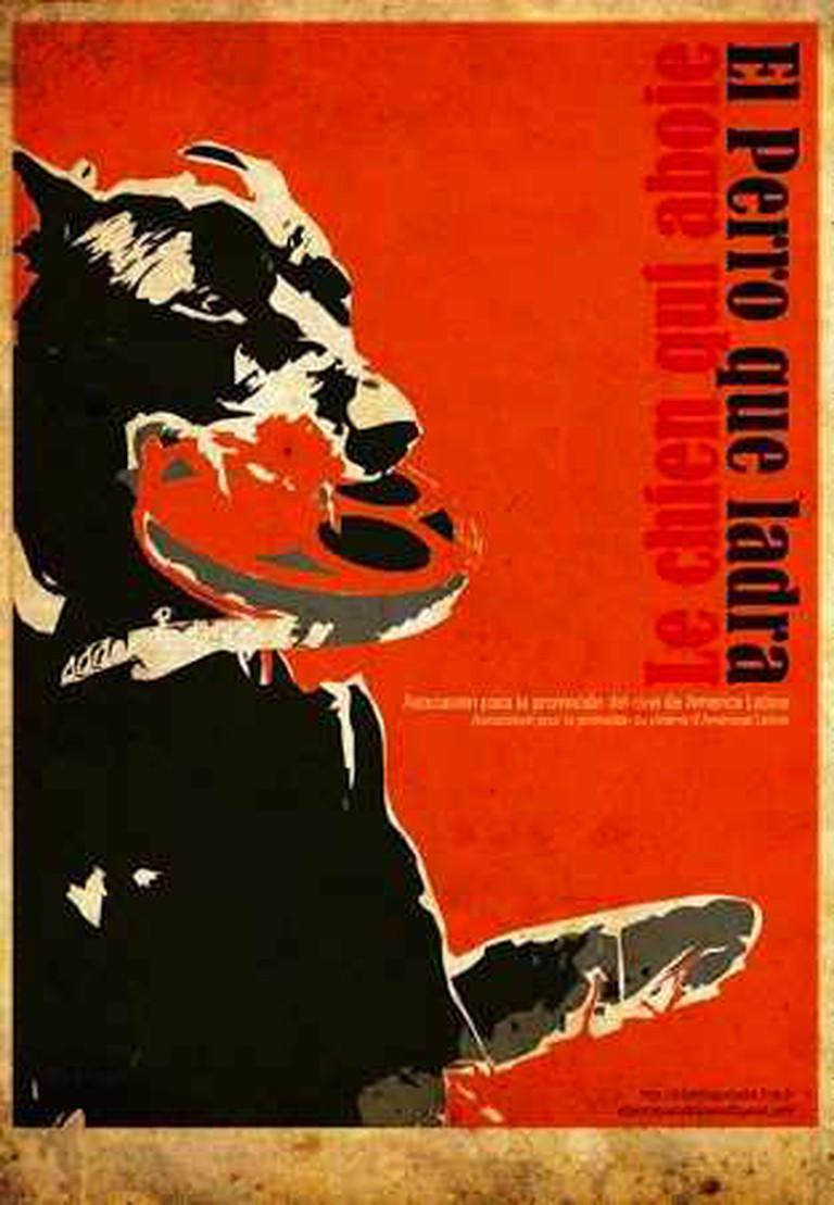 Le Chien Qui Aboie, poster I Courtesy of Sébastien Coral