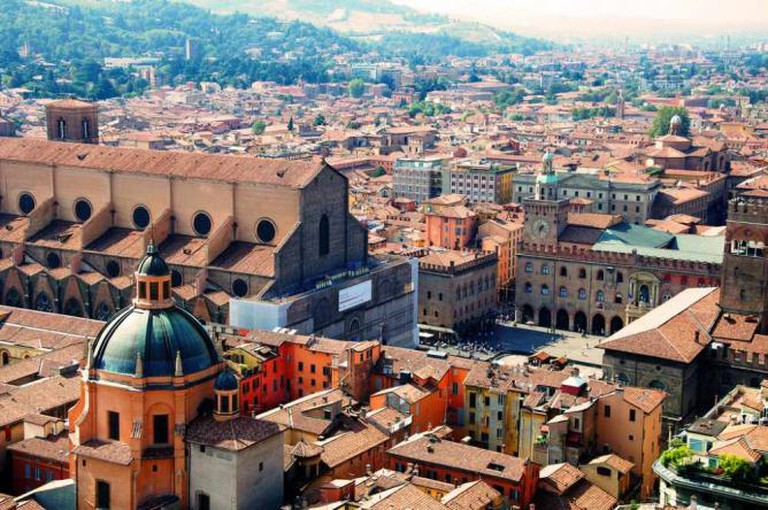 San Petronio from above