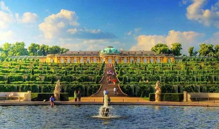Sansoucci Palace | @Wolfgang Staudt
