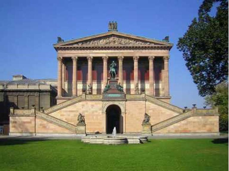 Alte Nationalgalerie  |  @ Manfred Brückels/Wikipedia