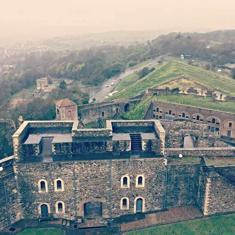 A view from Dover Castle   Courtesy of Angie Quinn